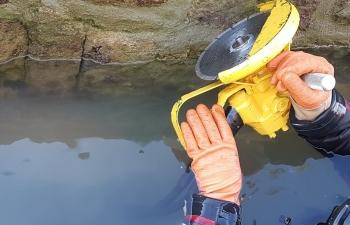 Meuleuse hydraulique sous-marine